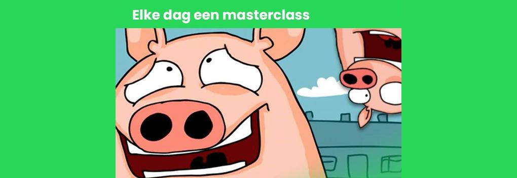 Het Klokhuis start dagelijkse online Masterclass