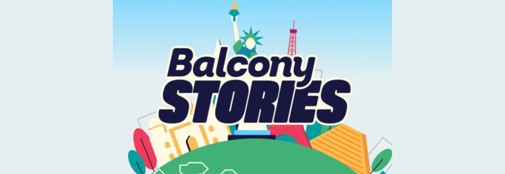 Verhalen van kijkers uit de hele wereld in Balcony Stories