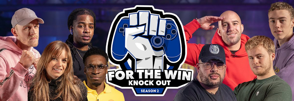 Tweede seizoen For The Win: Knock Out!