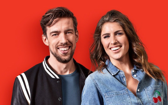 Qmusic dj's Mattie en Marieke in thuisquarantaine