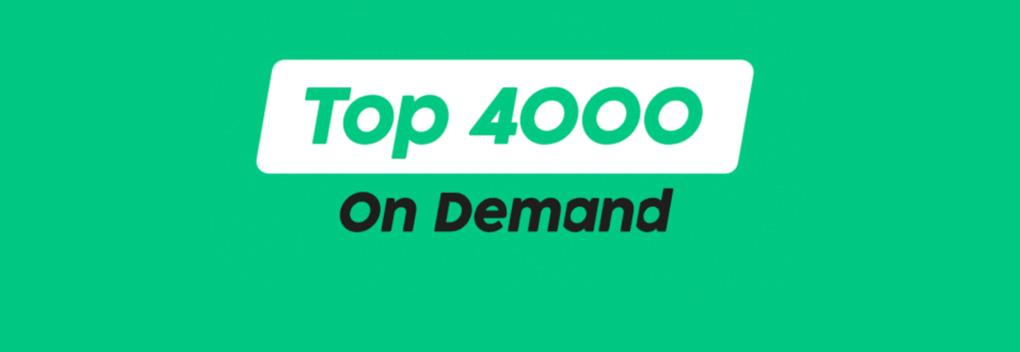 Top 4000 On Demand bij Radio 10