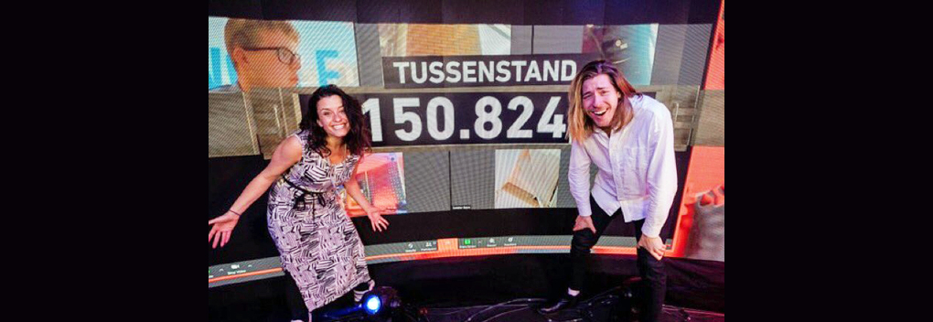 Tweede tussenstand 3FM Serious Request: Never Walk Alone