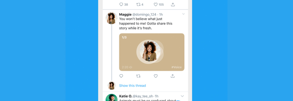 Twitter begint test met 'audiotweets'