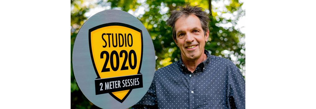 Nieuwe reeks 2 Meter Sessies in Studio 2020