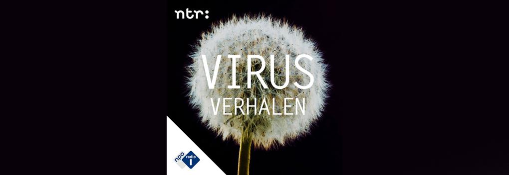 Zilveren Reissmicrofoon voor podcast Virus Verhalen