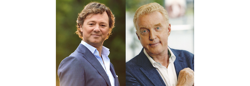 Frits Sissing en André van Duin presenteren jubileumavond Nederland staat op tegen kanker
