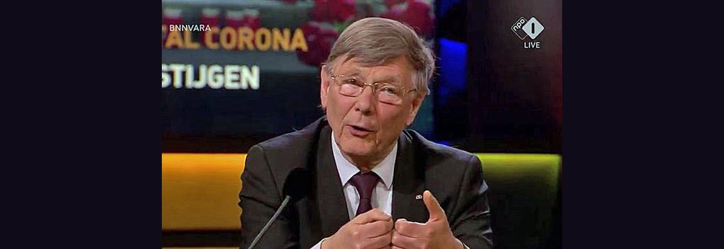 Viroloog Ab Osterhaus niet in Ranking the Stars