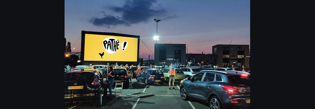 Pathé Drive-In Bioscoop gaat van start in Amsterdam
