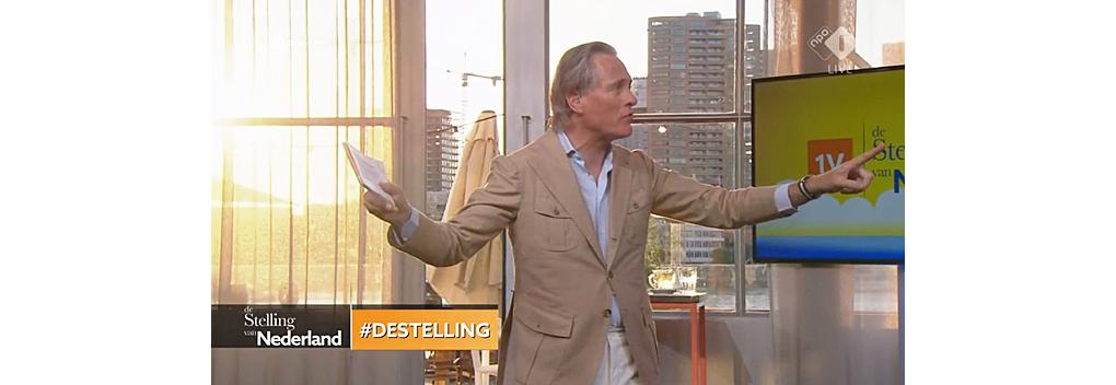 651.000 kijkers voor De Stelling van Nederland met Jort Kelder