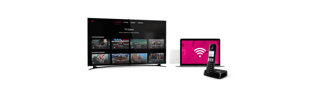 T-Mobile introduceert tv-dienst met terugkijkfunctie