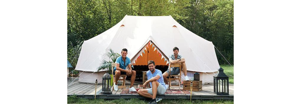 Fast Forward Amsterdam produceert De 3 sterren camping voor AVROTROS