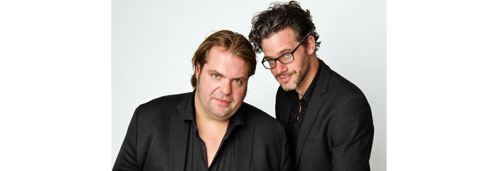 Frank Evenblij en Erik Dijkstra presenteren Bureau Sport In Koers