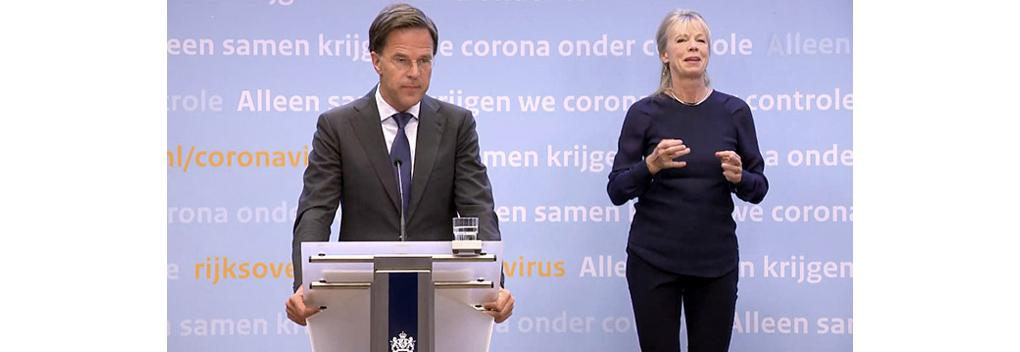 Veel kijkers voor persconferentie Mark Rutte