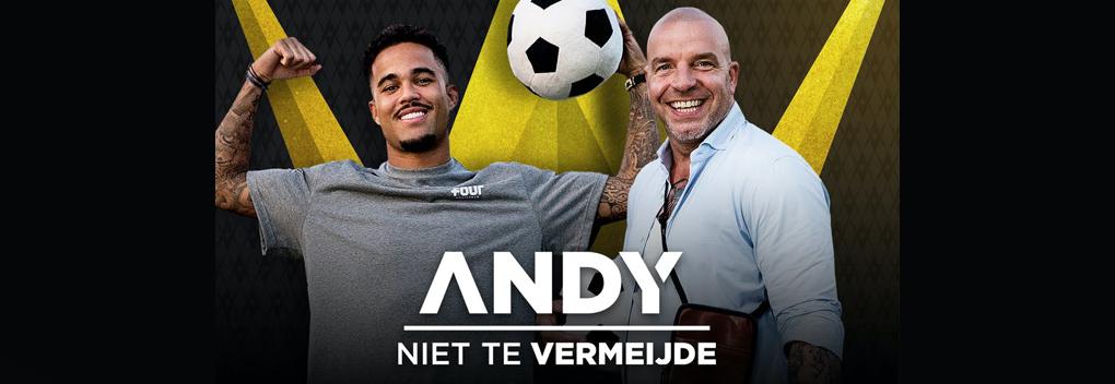 Andy van der Meijde valt met de deur in huis bij Nederlandse voetballers