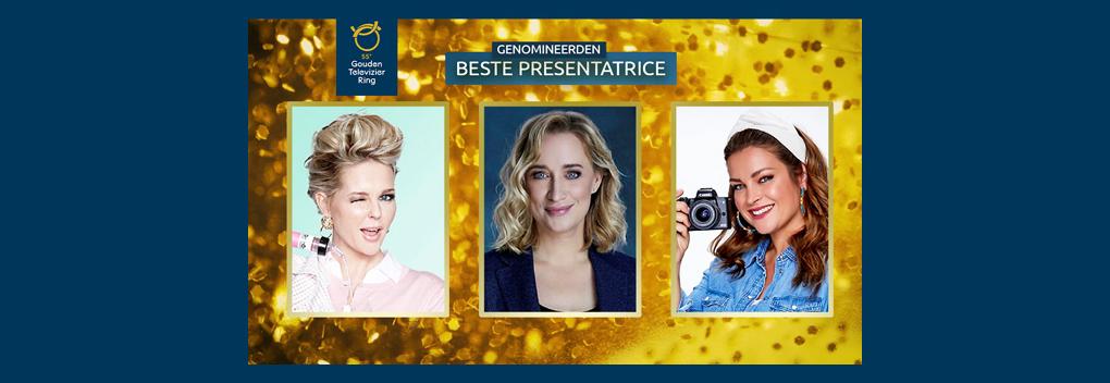 Nominaties Televizier-Ster Presentatrice bekendgemaakt