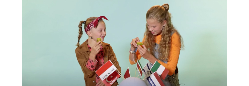 YouTube-serie bij Heel Holland Bakt Kids: Bakbabbels