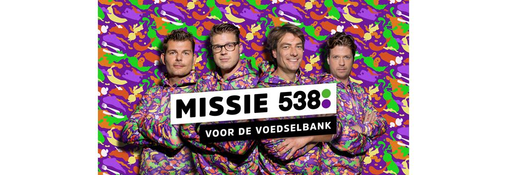 Radio 538 in actie voor de voedselbank