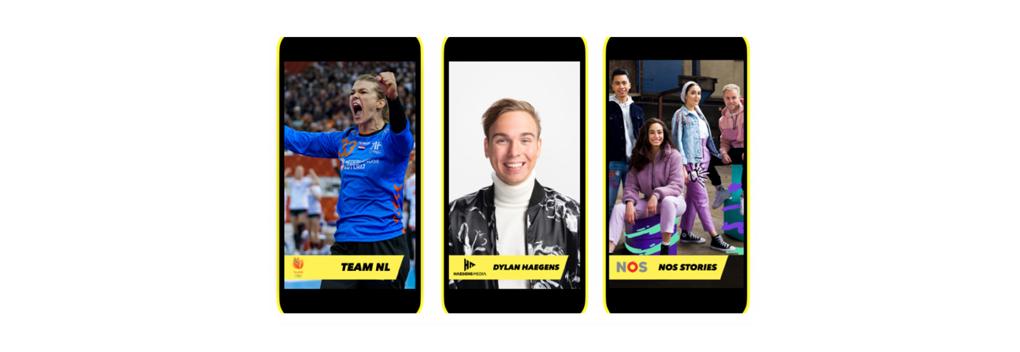 Nederlandse content te zien op Snapchat Discover