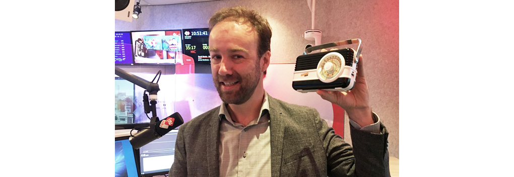 NPO Radio 2 wint RadioFreak Award voor Beste Vormgeving
