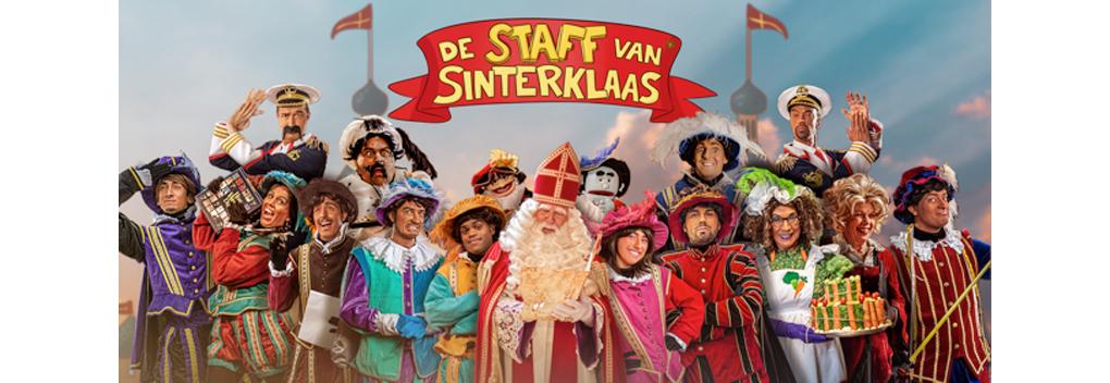 De Staff van Sinterklaas keert terug met nieuw uiterlijk Pieten