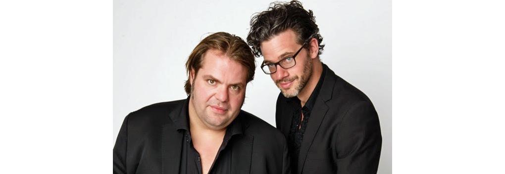 Frank Evenblij en Erik Dijkstra op zondag op NPO Radio 1