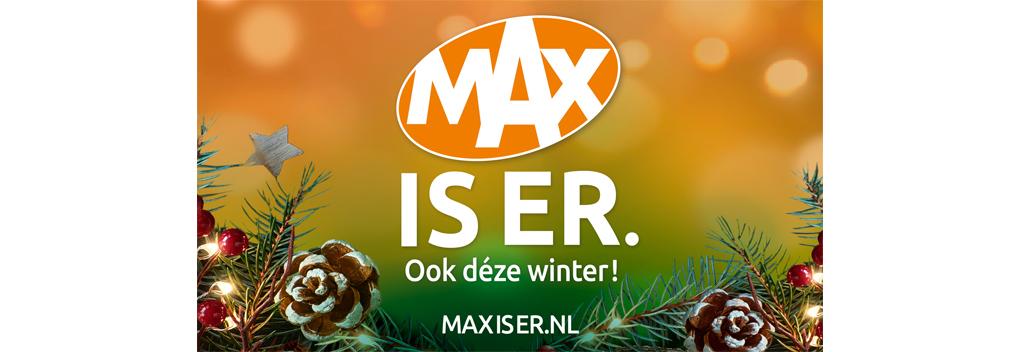 MAX kleurt december met 900.000 kerstkaarten
