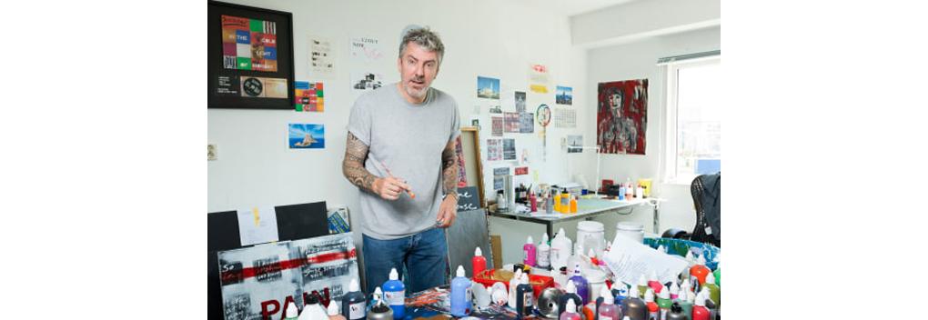 Ruud de Wild spreekt en schildert politieke kopstukken in Ingelijst