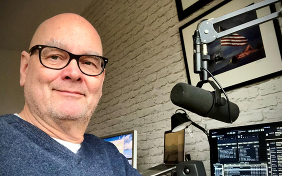 Leo van der Goot maakt radioprogramma voor NH Gooi Radio