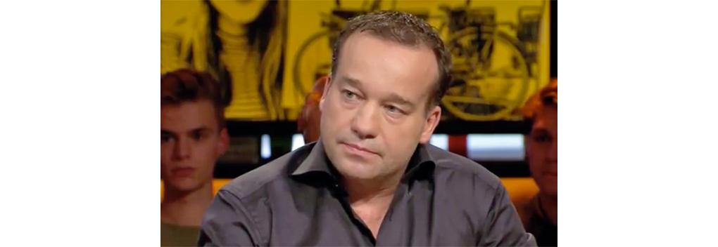 Mick van Wely op De Perstribune van MAX