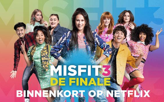 Misfit-film niet meer in bioscoop, maar bij Netflix