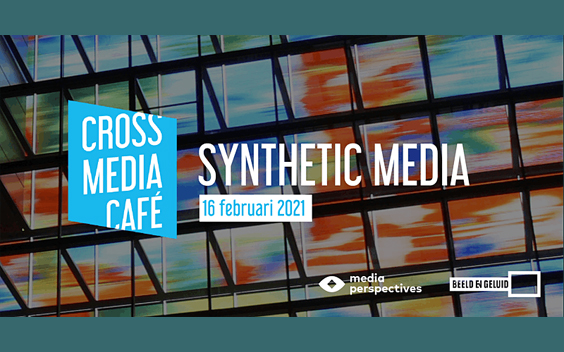 Cross Media Café over Synthetic media
