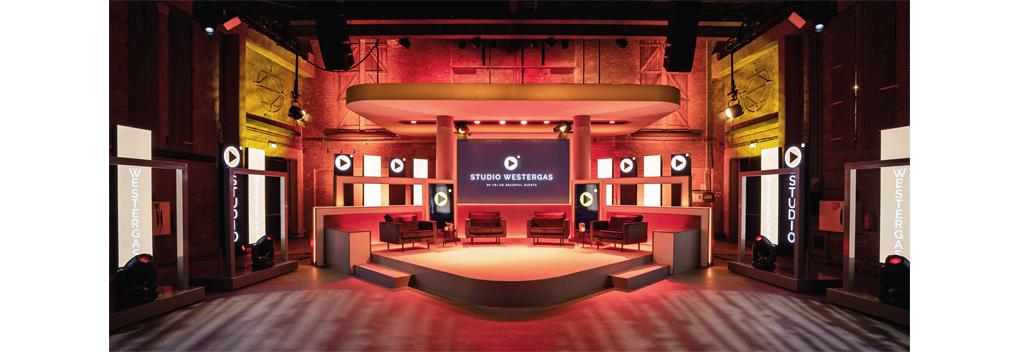 Nieuwe livestream-studio in Transformatorhuis Amsterdam