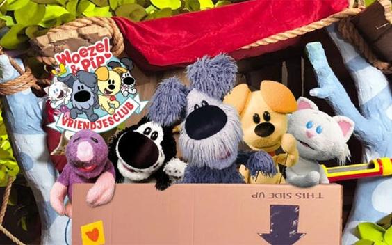 Videoland komt met kinderserie Woezel & Pip: Vriendjesclub