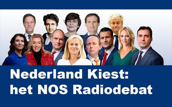 Nederland Kiest: het NOS Radiodebat