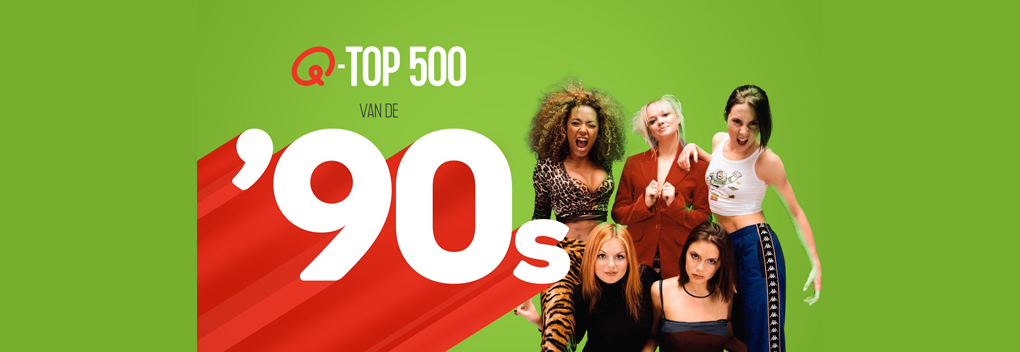 Top 500 van de '90s bij Qmusic