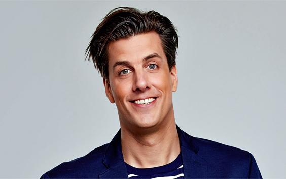 Rob Kemps vervangt Sander Lantinga op 538 tijdens Eurovisie Songfestival
