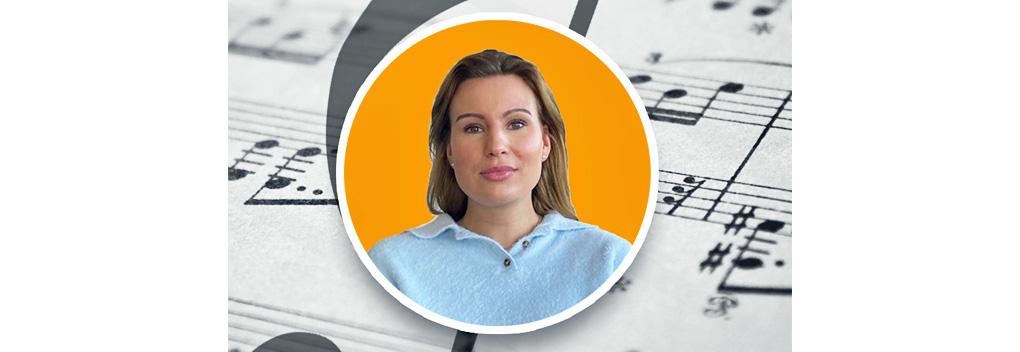 Jong talent Amy Muller presenteert Voor de dag