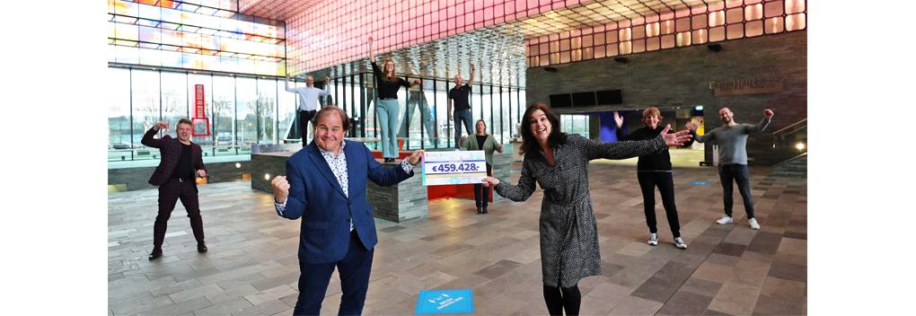 Beeld en Geluid ontvangt 459.428 euro van BankGiro Loterij