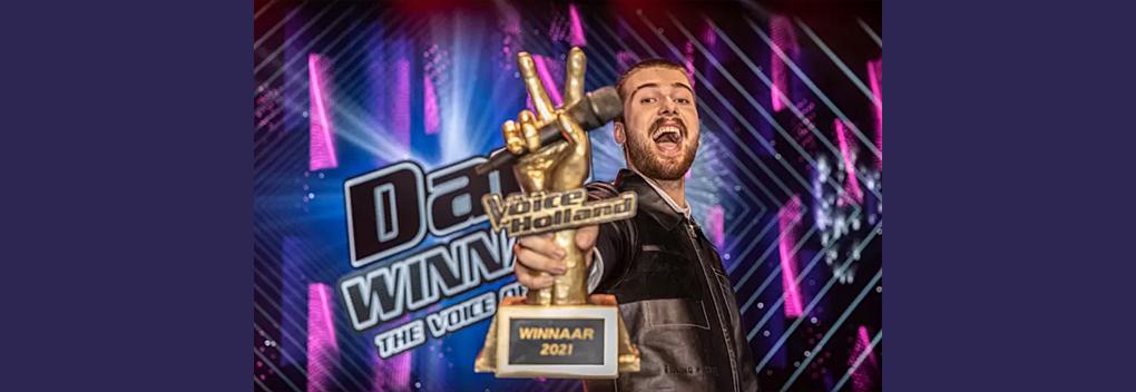 Ruim 2 miljoen kijkers voor finale The Voice of Holland