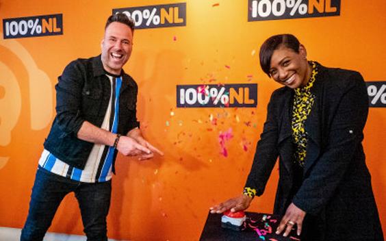 Edsilia Rombley opent radiostation 100% NL Songfestival