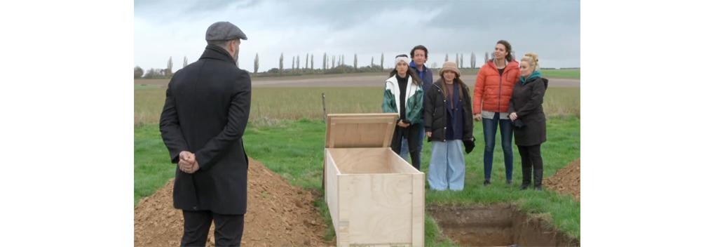 Deelnemers De Verraders worden levend begraven