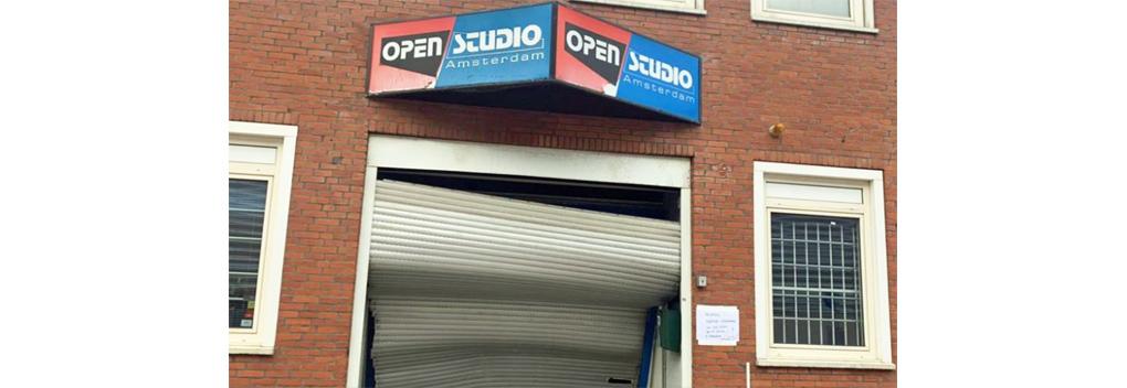 Mislukte ramkraak bij Open Studio Amsterdam