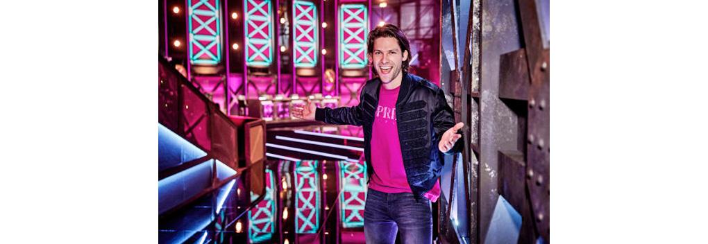 Thomas van der Vlugt backstage reporter bij We Want More