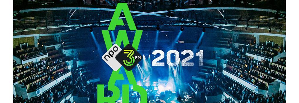 Uitreiking 3FM Awards 2021 is Fieldlab Evenement