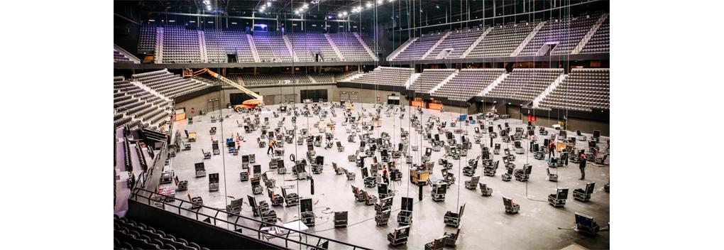 Timelapse: de bouw van het Eurovisie Songfestival-podium