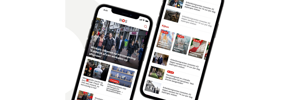 NOS.nl en NOS-app vernieuwd
