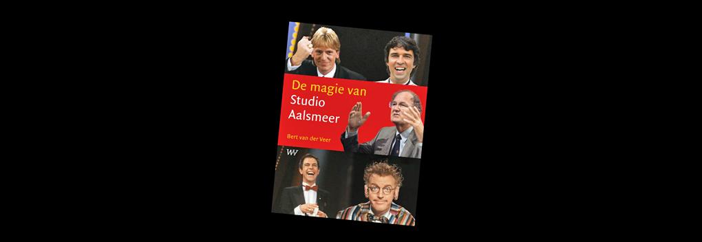 Bert van der Veer lanceert boek De magie van Studio Aalsmeer