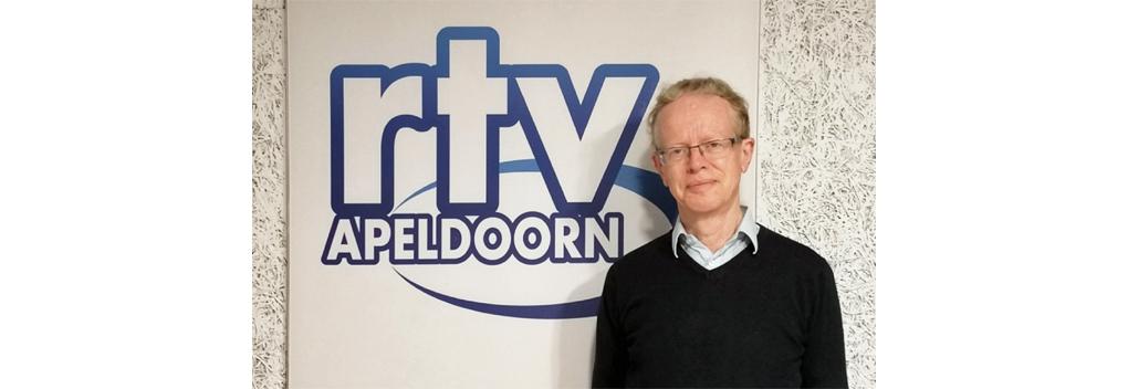 Theo van Driel, PBO-voorzitter bij RTV Apeldoorn