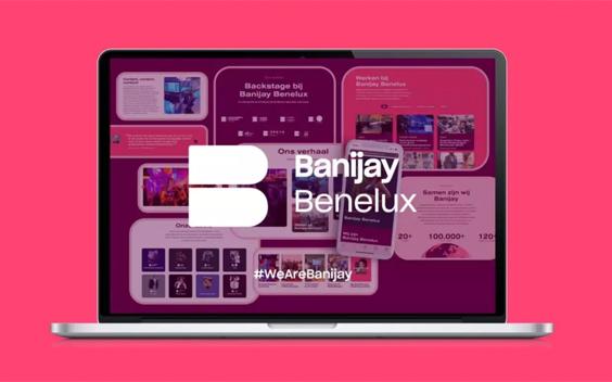 Banijay Benelux heeft nieuwe website
