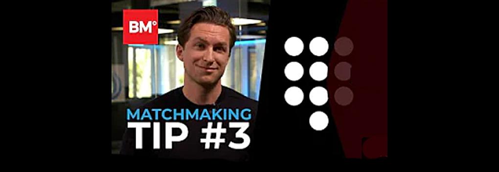 BMY Matchmaking Tip #3 | Talpa Network
